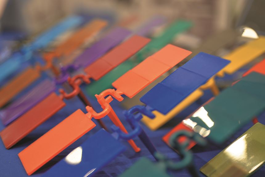 Riverdale Global direct coloring injection molding