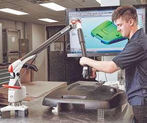 EVCO Plastics Romer 3D Laser Scanning