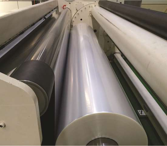 Jumbo Roll Winder For Cast PP and Barrier Films