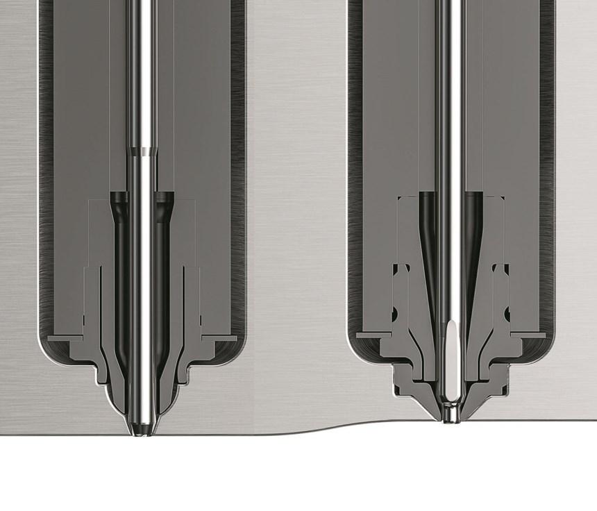 HRSflow HPgate injection molding valve gate