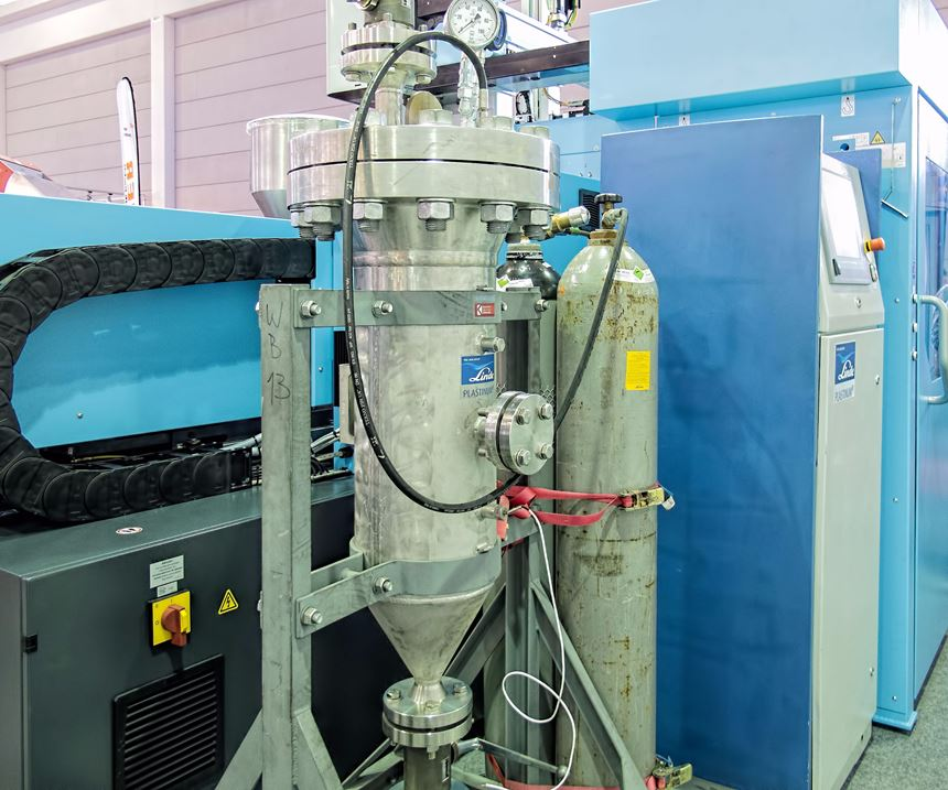 ProTec physical foaming system for injection molding