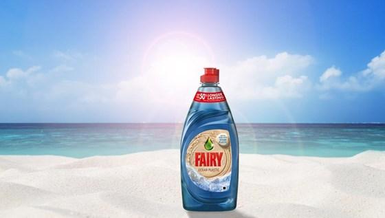 P&G Fairy Ocean Plastic Bottle
