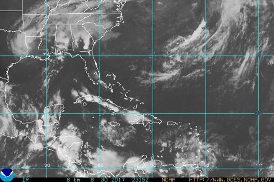 NOAA Gulf of Mexico Satellite Image