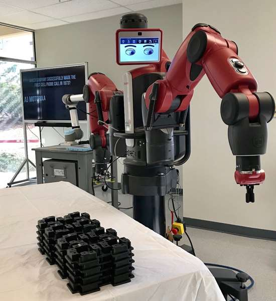 ReThink robotics Baxter Plastic Molding Technology Inc.