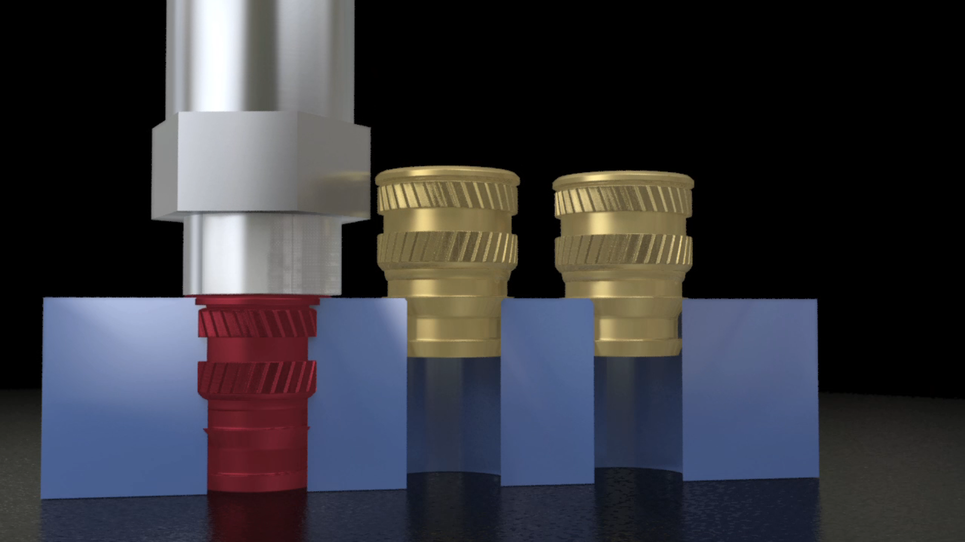 Four Ways to Tackle Threaded Inserts for Plastics : Plastics