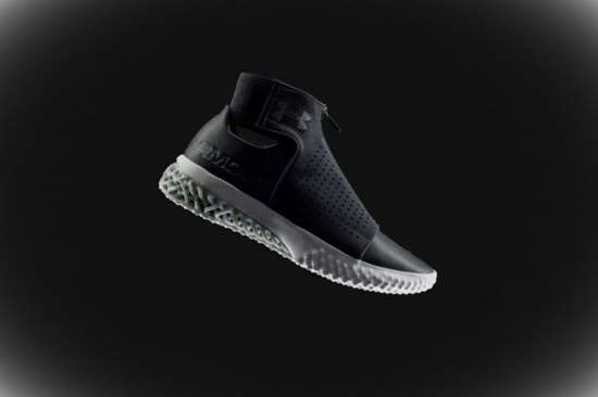 df12564f7a6f98 3D-Printed Sneakers Gaining Traction  Plastics Technology