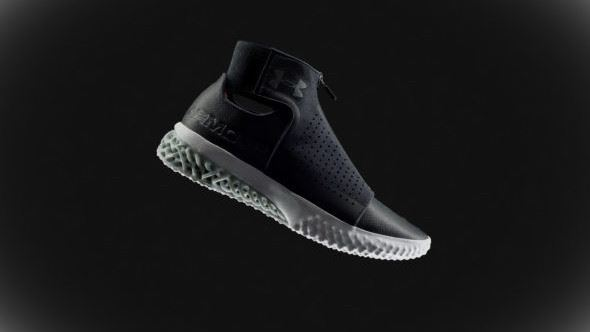Under Armour EOS 3D printing