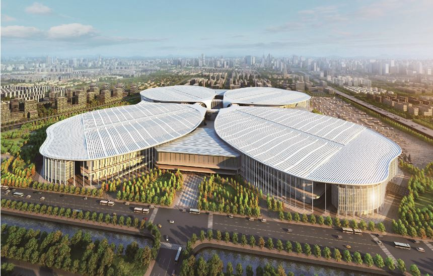 new National Exhibition and Convention Center (NECC) Hongqiao, Shanghai
