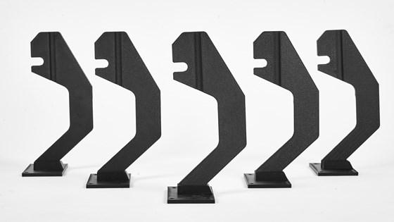 stratasys 3d printing replacing metal part