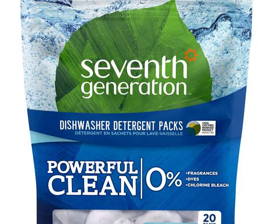 Seventh Generation stand-up pouch