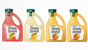 Simply Juice recyclable bottle