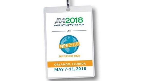 Additive Manufacturing NPE2018 3D Printing Workshop