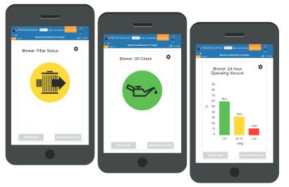 Novatec PumpSense predictive maintenance app