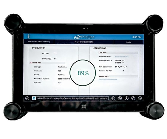 Smart Attend is integrated with the Prism ERP system.