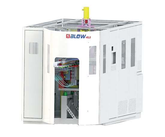 4LO all-electric reheat stretch-blow molder from 1Blow