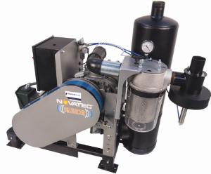 Novatec SVP silencer vacuum positive displacement pump