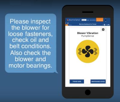 Novatec PumpSense predictive maintenance suggestions