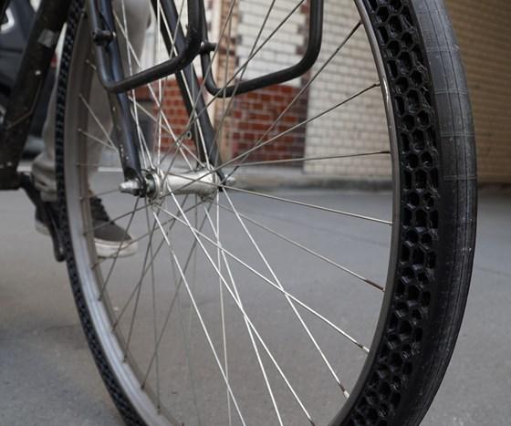 BigRep airless bicycle tire Pro FLEX TPU filament
