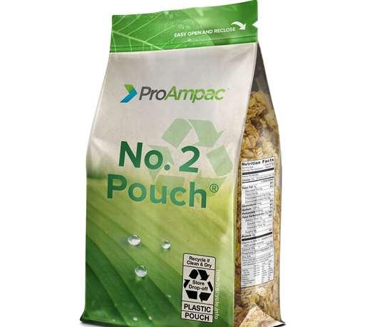 No. 2 QuadFlex pouch