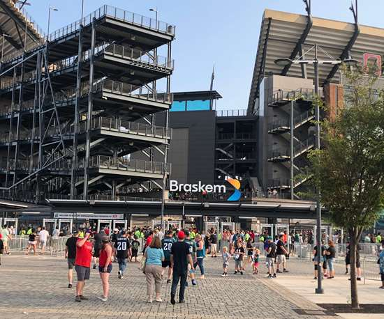 Lincoln Financial Field Braskem