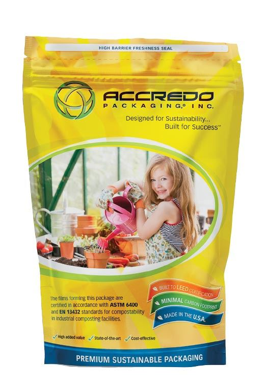accredo standup pouch