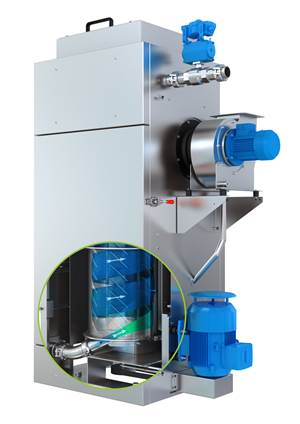 Pellet Dryer Reduces Cost of Wear From Abrasive Compounds