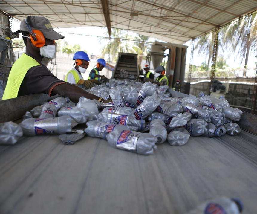Sorting bottles