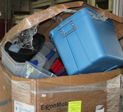 Industrial plastics recycling