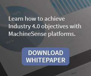 achieve Industry 4.0, IIoT, data-driven objectives with MachineSense platforms, download whitepaper