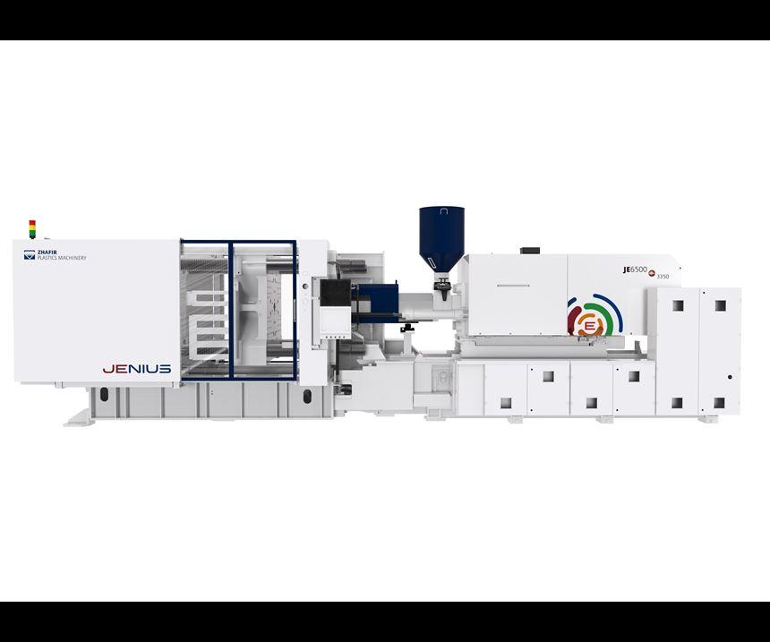 Zhafir Jenius Series injection molding machine from Absolute Haitian