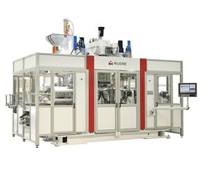 Uniloy M-Series M12.53ED blow molding machine