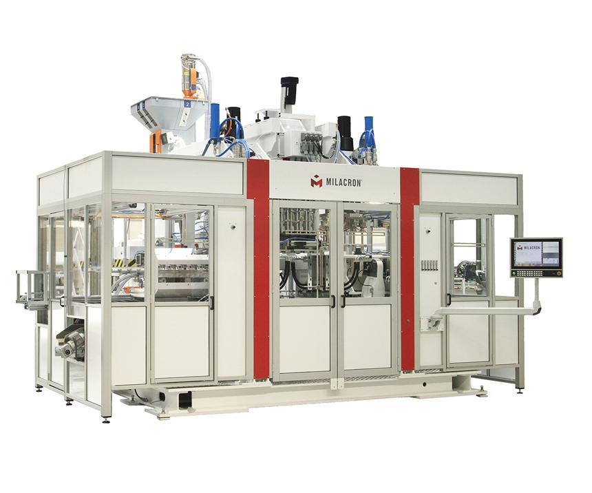 Uniloy M-Series M12.53ED blow molding machine