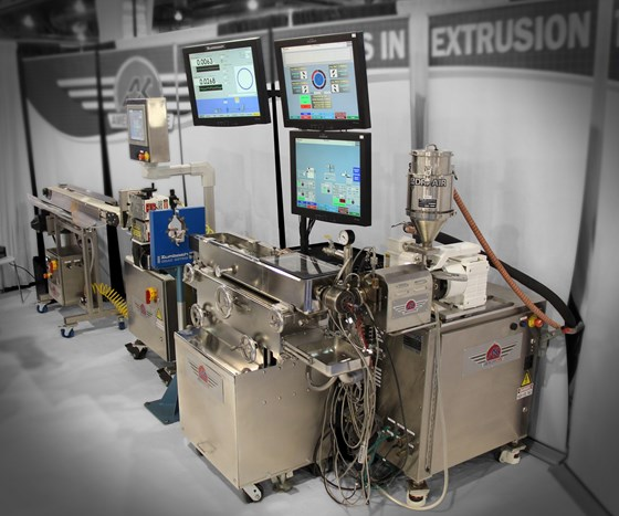 American Kuhne medical tubing extrusion system