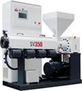 Milacron SV 350 single-screw extruder