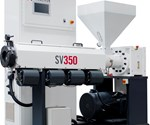Milacron SV 350 single-screw extruder