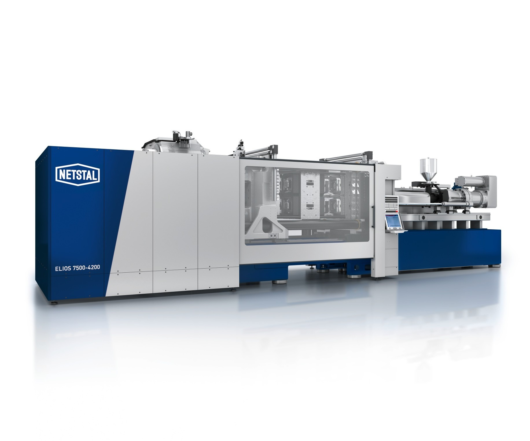 Netstal Elios series injection molding machine