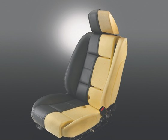 Ford vehicle seat utilizing soy-based foam