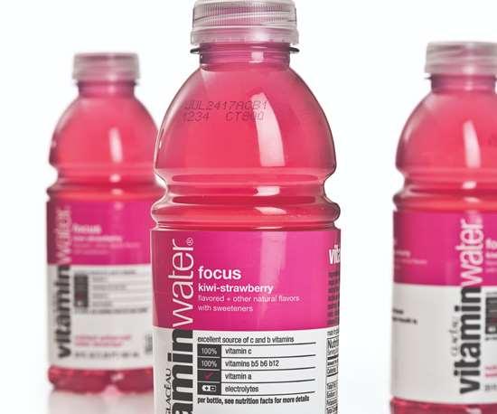 Vitaminwater packaging
