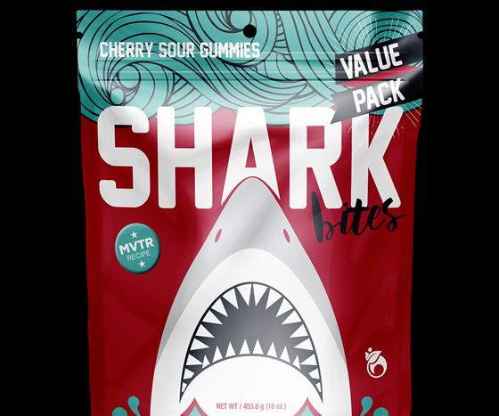 Shark Bites trail mix