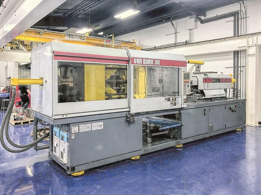 Van Dorn 300-ton 1996 toggle press