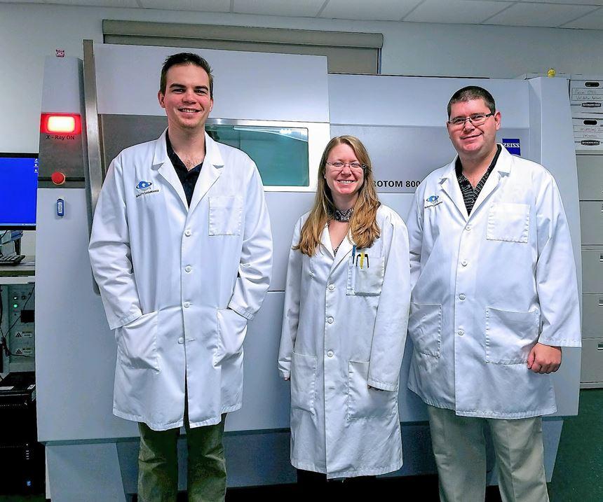 Omnia Scientific metrology lab with Zeiss Metrotom 800 CT scanner
