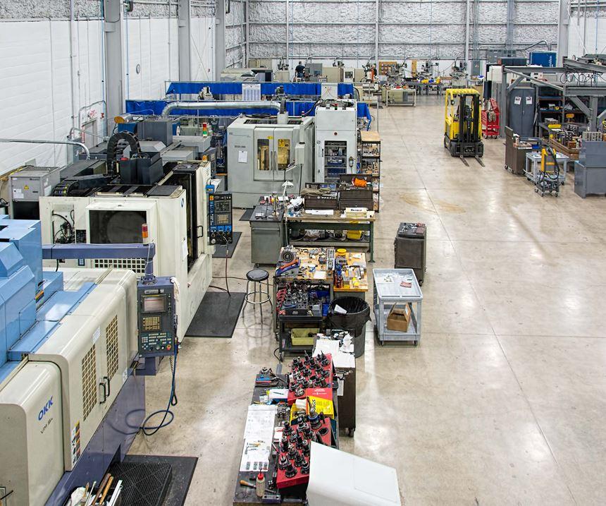 Choice Tool & Mold machining area