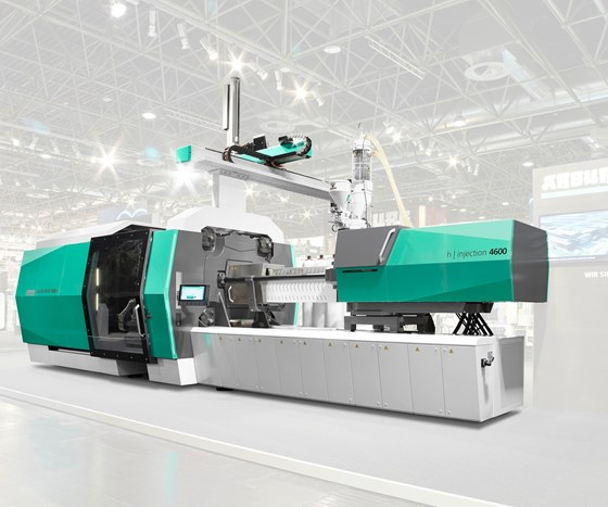 Injection Molding At Npe U S Debut Of Arburg S Largest