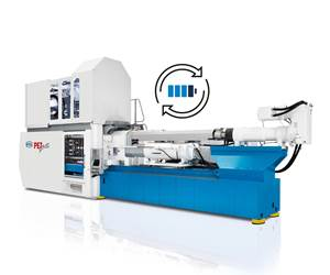 Netstal CPP for PET-Line injection molding system