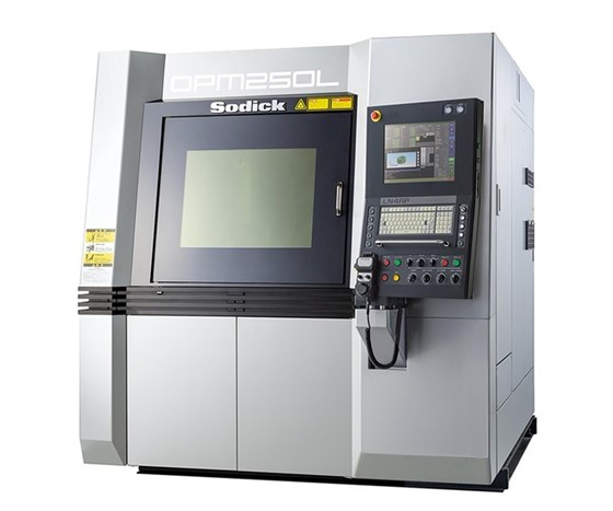 SodickOPM250 metal 3D printer