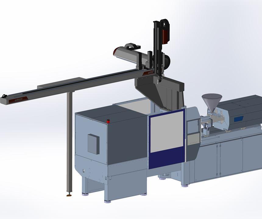 L-mount robot from Wittmann Battenfeld