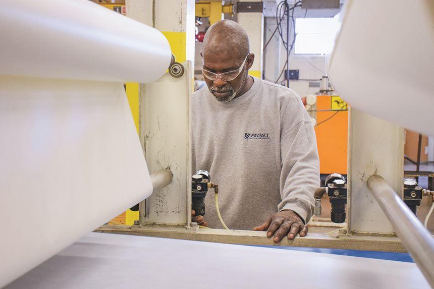 Primex Plastics sheet