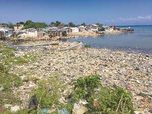 Haiti ocean plastics