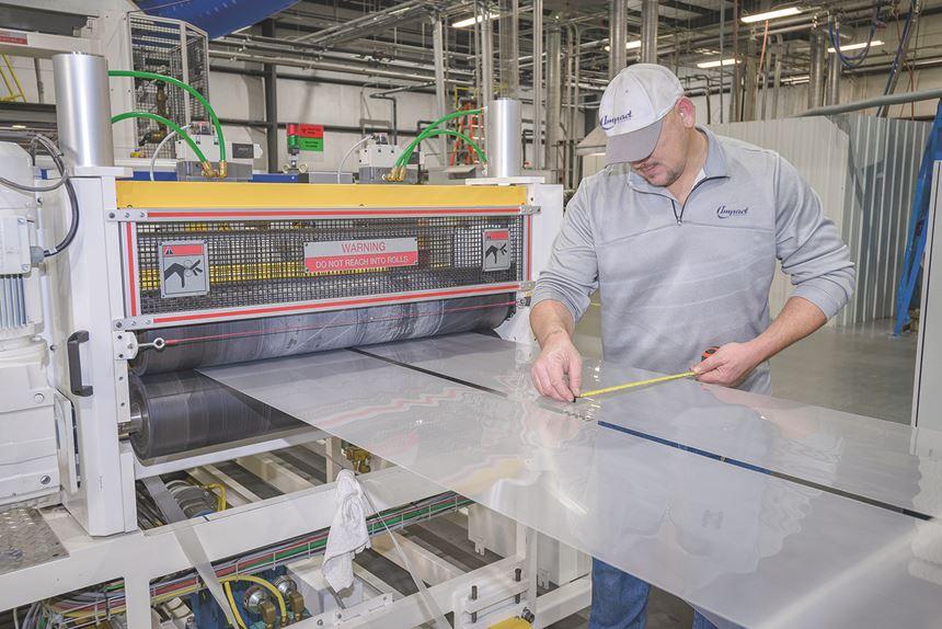 Impact Plastics extrusion inspection