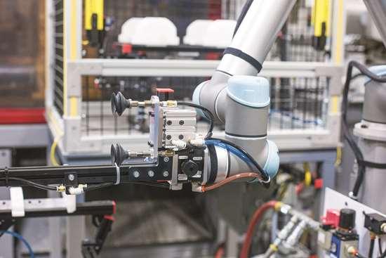 Universal Robots URG model